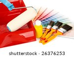 Various Painting Tools And...