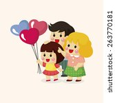 family theme elements | Shutterstock . vector #263770181