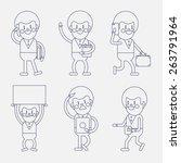 character illustration design.... | Shutterstock .eps vector #263791964