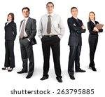 Business  People  Group Of...