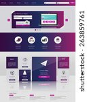 website design template. vector ...