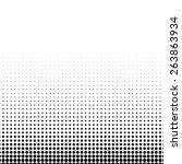 vector classic halftone... | Shutterstock .eps vector #263863934