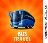 bus banner | Shutterstock .eps vector #263867531