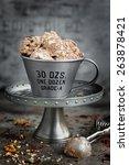 chocolate ice cream | Shutterstock . vector #263878421