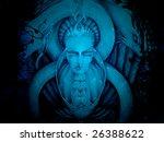 illustration face | Shutterstock . vector #26388622
