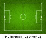 textured grass soccer or... | Shutterstock .eps vector #263905421