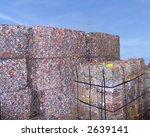 stacks of scrap packing over ... | Shutterstock . vector #2639141