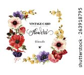 Greeting Card  Watercolor  Can...