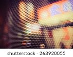 abstract background with bokeh... | Shutterstock . vector #263920055