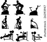 Female Exercise Vector...