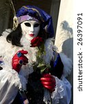mask from carnival in venice | Shutterstock . vector #26397091