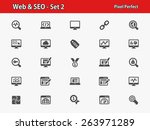 web   seo icons. professional ...   Shutterstock .eps vector #263971289