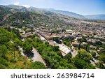 gjirokaster    town of silver... | Shutterstock . vector #263984714