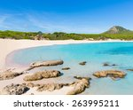 Small photo of Majorca Cala Agulla beach in Capdepera Mallorca at Balearic Islands of Spain