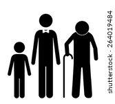 family design over white...   Shutterstock .eps vector #264019484