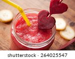 Healthy Red Smoothie With...