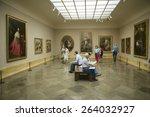 Art Appreciators View Painting...