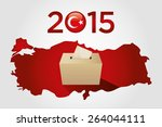 parliamentary elections in... | Shutterstock .eps vector #264044111