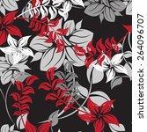seamples flower illustration ...   Shutterstock .eps vector #264096707