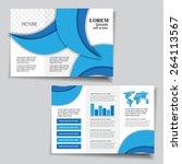 brochure design   Shutterstock .eps vector #264113567