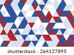 triangle design pattern... | Shutterstock .eps vector #264127895