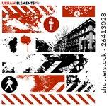 urban design elements   1 | Shutterstock .eps vector #26413028