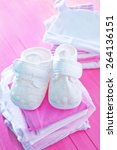 baby clothes | Shutterstock . vector #264136151