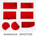 sale sticker  banner template... | Shutterstock .eps vector #264157181