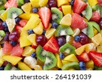 Background Of Healthy Fresh...