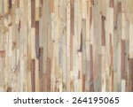 wood planks texture background | Shutterstock . vector #264195065