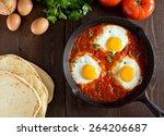 Shakshuka With Eggs  Tomato ...
