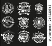 logo race | Shutterstock .eps vector #264220565