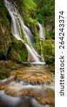 Beautiful Waterfall Among...