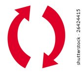 arrow symbol   Shutterstock . vector #26424415