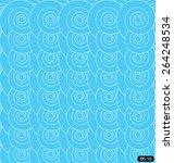 spirals in blue background    Shutterstock .eps vector #264248534