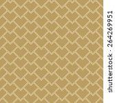 seamless scale pattern. vector... | Shutterstock .eps vector #264269951