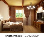 bedroom | Shutterstock . vector #26428069