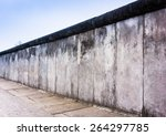Stock photo remains of the berlin wall the berlin wall berliner mauer in germany 264297785