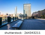Small photo of Milan, Italy - January 26 2015: Porta Nuova, panoramic view from from Aalto square
