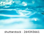 bokeh light background in the... | Shutterstock . vector #264343661