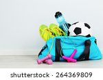 Sports Bag With Sports...