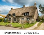 beautiful thatched cottage at...