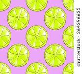 vector watercolor seamless...   Shutterstock .eps vector #264396635