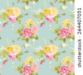Seamless Floral Shabby Chic...