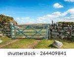 An Old Wooden Field Gate...