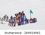 etna ski alp   world... | Shutterstock . vector #264414461