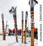 etna ski alp   world... | Shutterstock . vector #264414464
