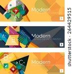 modern flat design infographic...