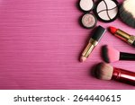 set of colorful cosmetics on... | Shutterstock . vector #264440615