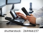dialing telephone keypad... | Shutterstock . vector #264466157